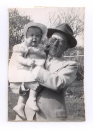 Picture of Marcella and Grandpa